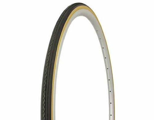 Tire Duro 700 x 25c Black/Gum Side Wall HF-156. Bicycle tire, bike tire, track bike tire, fixie bike tire, fixed gear tire by Lowrider