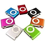 MINI LETTORE MP3 MICRO SD RICARICABILE DA VIAGGIO CORSA JOGGING IPOD STYLE (assortimento)