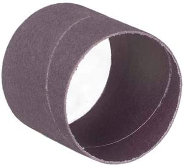 3 in Wide 1 in Diameter Spiral Band Pack Qty: 100, Pack of 15 120 Grit