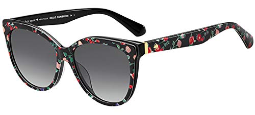 Kate Spade Women's Daesha/s Round Sunglasses, floral print, 56 mm