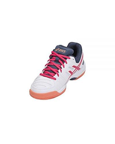 Gel E561y Baskets 0121 Asics Blanc Fuchsia padel wFpfwqx5