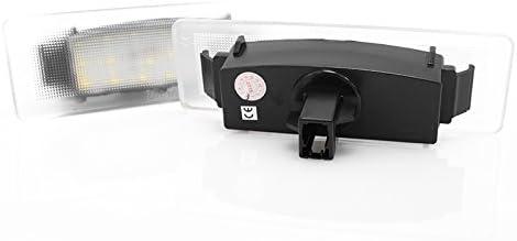 2 X Led Kennzeichenbeleuchtung Nummernschildbeleuchtung Canbus Plug Play Mit Dichtung E Prüfzeichen V 032106 Auto