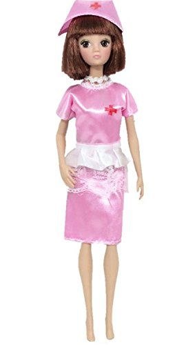 ef885fd65ca Image Unavailable. Image not available for. Color: Doll Accessories Cosplay  Costume Set Clothing Uniform Female Nurse Pink Dress Fashion For Barbie ...
