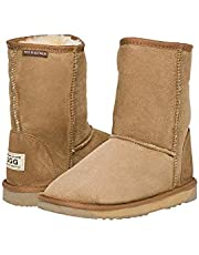 Australian Leather UGG Boots 3/4 Short Classic Unisex Uggboots