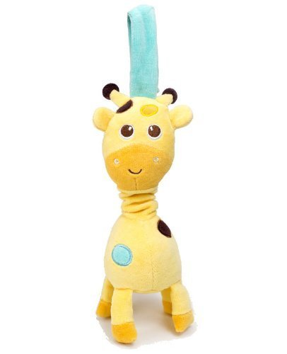 Along Healthy - Babee Talk Eco-Buds Take-Along Pals - Giraffe