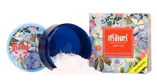 Srichand Original Powder Mask for Oily Skin Anti Acne Blemish Oil Control 20 g. Thai Product (Original Bane Costume)