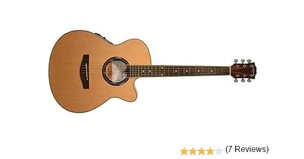 Carlo Robelli crf550tbx bceq Thin Line Guitarra Acústica con ...