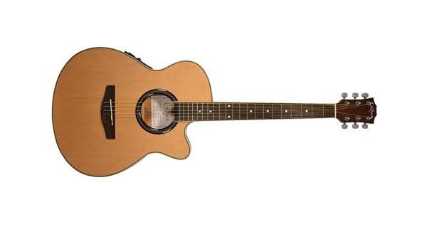 Carlo Robelli crf550tbx bceq Thin Line Guitarra Acústica con Cutaway Guitarra eléctrica: Amazon.es: Instrumentos musicales
