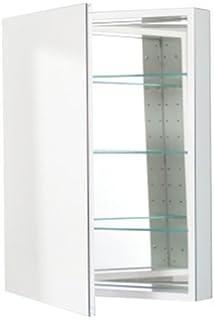 robern cbplm2430w plseries flat mirror medicine cabinet white - Robern Medicine Cabinet