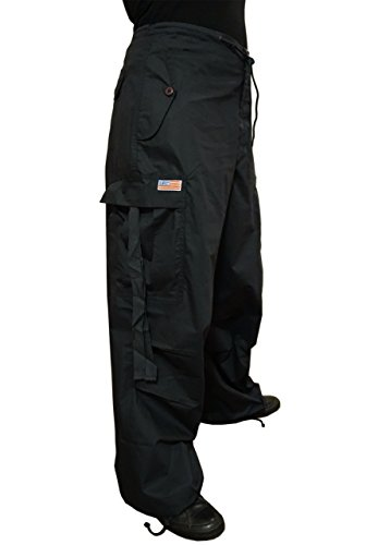 Ufo Pants - UFO's Classic Wind Pant, Navy (Large)
