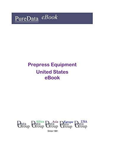 Prepress Equipment United States: Market Sales in the United States