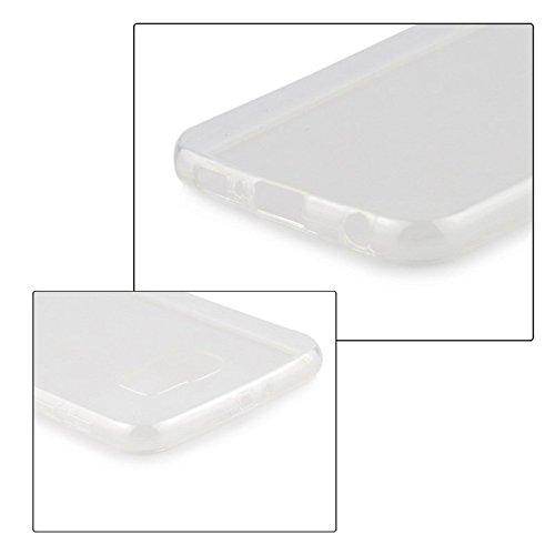 Samsung Galaxy S6 Edge Hülle Silikon Case -- super dünn --durchsichtig transparent Clear TPU Schutzhülle GalaxyS6 Edge - TheSmartGuard