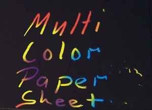Kratzbilder 10 Blatt Kratzpapier blanko Multi Color Conda