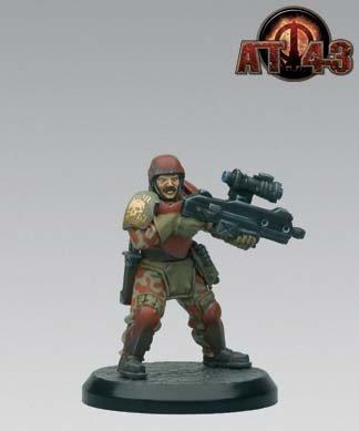 AT-43 Unit Box: Spetsnatz Kommandos