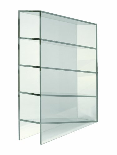 Heathrow Scientific HD20611 Clear Acrylic Manual Pipette Rack with 4 Compartment