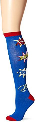 K. Bell Socks Womens Single Pack Fun Novelty Knee High Socks
