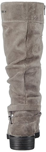 Ricosta Women's Riana Boots, Black Grey (Meteor 460)
