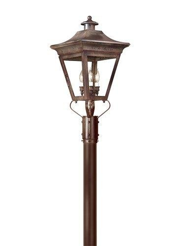 Troy Lighting P8934CI Oxford 3Lt Post Lantern from Oxford - Collection Brass Oxford
