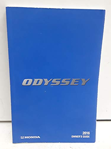 2016 Honda Odyssey Owners Manua