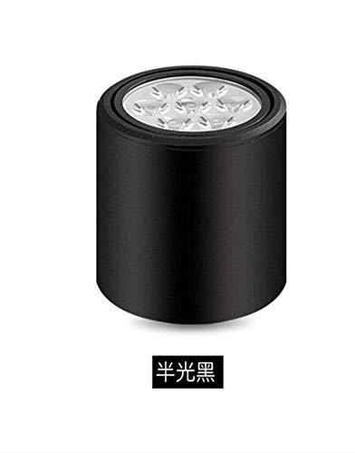 5151BuyWorld Lamp Plafond Moderne Lumière LED VêteHommests Top Qualité Boutique Vitrine Lampe De Plafond Aisle Bar Aspiration Top Type InsTailletion D'éclairage LED {blanc lumière+3W & rougeating Head}