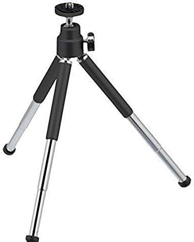 Camera Belt Strap 1pcs Black Mini Tripod Aluminum Metal Lightweight Tripod Stand Mount for Digital Camera Webcam Phone DV Tripod Durable