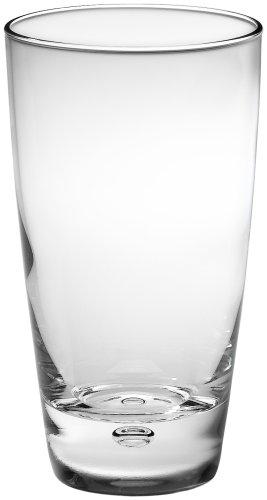 Bormioli Rocco Luna Tumbler Beverage Glasses, Set of 12 (Best Everyday Water Glasses)