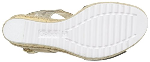 Gabor Space Multicolore sandales 45 37 femme Schwarz mode 790 rwvr8fCq