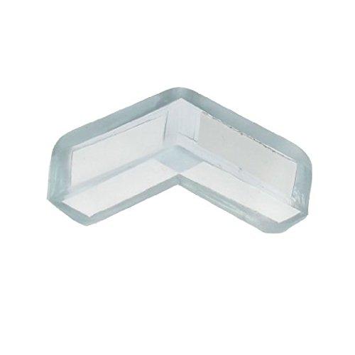 Soft Plastic Pad Desk Corner Safety Protector Clear 8pcs