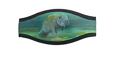 Marine Sports Manufacturing Manatee Grass Mask Strap Wrapper Black ()