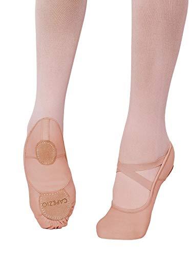 Capezio Hanami Ballet Shoe - Child - Size Child 1M, Light Suntan (Toddler Ballet Slippers Capezio)