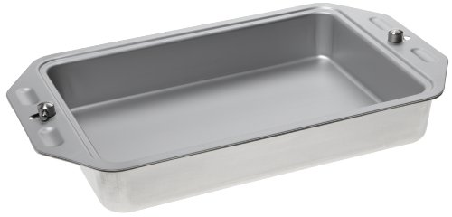 Heartland Bakeware AireGourmet Air-Insulated Convertible Covered 13 by 9 Inch Cake Pan with Lock and Take Cover