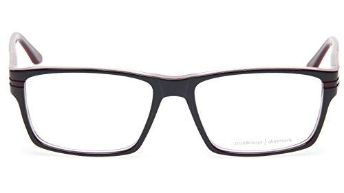 NEW PRODESIGN DENMARK 1699 c.6032 BLACK EYEGLASSES FRAME 57-17-140 B38mm - Denmark Glasses