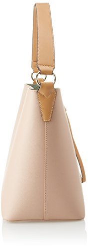 byblos Damen Ladybug Tornistertasche, 17x29x34 centimeters Beige