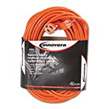 Best INNOVERA extension cord - - Indoor/Outdoor Extension Cord, 100ft, Orange Review
