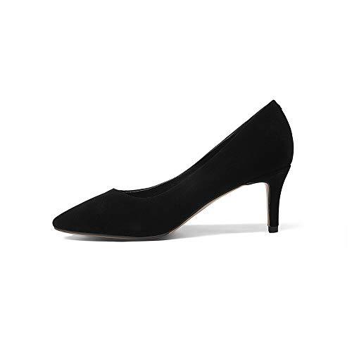 Noir Compensées 36 Noir SDC06052 5 AdeeSu Sandales Femme xfwTISq