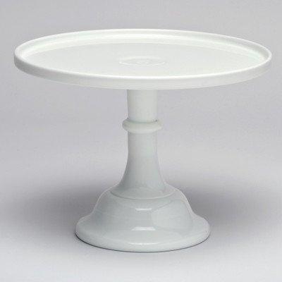Milk Glass Plate - Mosser Glass 10