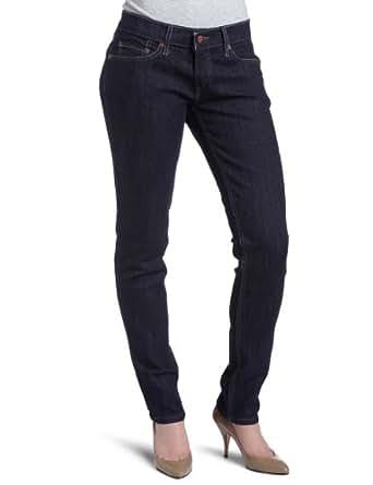 Levi's Women's 524 Skinny Jean, Clean blue, 24W x 34L