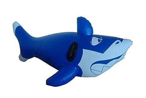 QYP juguete de agua de gran hinchable de ballenas el asiento ...