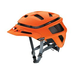 Smith Optics Forefront Adult Off-Road Cycling Helmet – Matte Neon Orange / Small Review