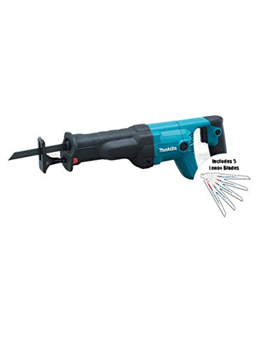 Makita Jr3050T Reciprocating Saw Kit With 5Pk Lenox Wood - Reciprocating Jr3050t Makita Saw