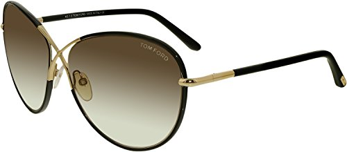 Tom Ford Women's FT0344 Designer Sunglasses, Shiny - Tom Ladies Ford