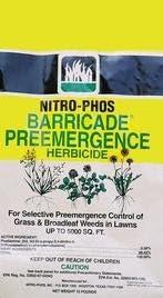 Barricade Pre-emergence Herbicide Granular Weed Killer