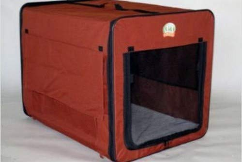 Go Pet Club AB43 Soft Dog Crate, Brown - 48 inches L x 28 inches W x 32 inches H