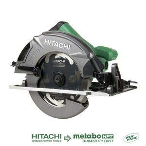 Hitachi C7SB3 15 Amp 7-1/4' Circular Saw 0-55° Bevel Capacity, Blower Function, &...