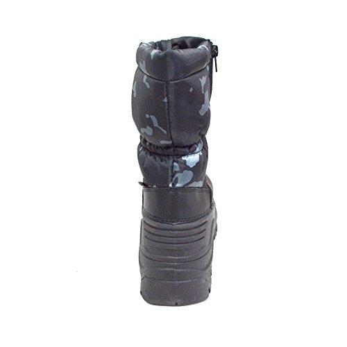 Scarpa Da Uomo Invernale Impermeabile Resistente Allacqua Cerniera (y06) Camuffamento