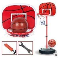 WAL - Canasta de Baloncesto con Sistema de Soporte de Altura Ajustable para niños