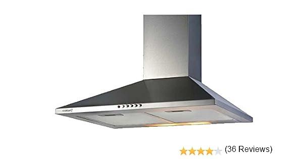 CATA V 600 - Campana Decorativa Con 3 Niveles De Extracción: Amazon.es: Grandes electrodomésticos