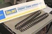 Ohlins Fork Cartridge Kit - Ohlins 04744-10 Fork Cartridge Kit (Road And Track 30Mm Front 04744-10 Ohlin R&T 04 Fork Spring 10.)