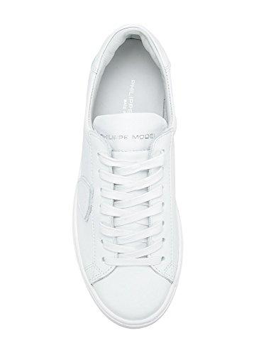 Philippe Signore Modello Della Scarpa Da Tennis Bianco Bianco, Bianco - Bianco - Dimensioni: 38 Eu