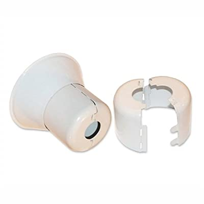 """Split Cup Adjustable Two Piece Escutcheon 